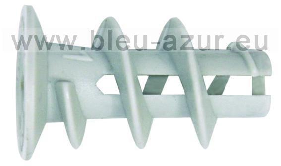 Clicfixation agrafes agrafeuses cloueurs pointes inox pointes en bande pieds de poteaux - Cheville pour plaque de platre ...